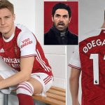 Arsenal Complete Signing Of Real Madrid Star, Odegaard On Loan