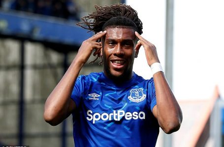I'll Be Fit To Face Leicester City – Everton Winger, Iwobi