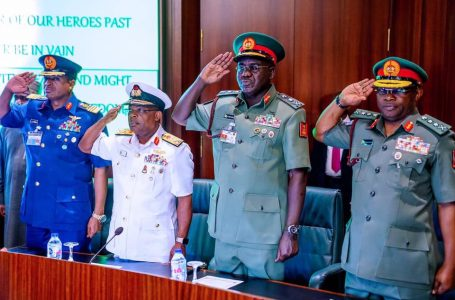 House Of Reps Confirms Appointment Of Service Chiefs