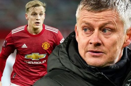 FA Cup: Van de Beek To Start Against Liverpool – Man Utd Boss, Solskjaer