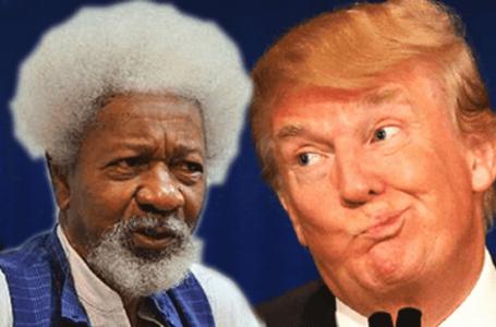 Trump Was A Monster, Racist President – Soyinka