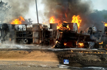 Update: Three Dead, Vehicles Burnt As Fuel Tanker Explodes In Abeokuta