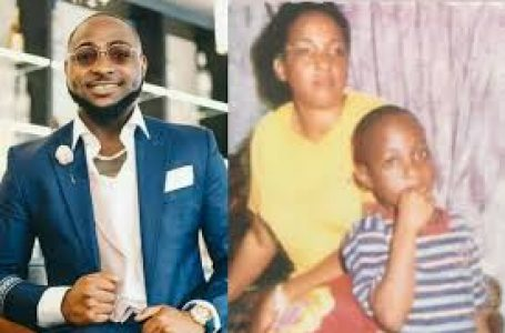 """I Miss Your Warm Hugs And Lovely Kisses"" – Davido Shares An Old Letter He Wrote To His Late Mum After She Died"