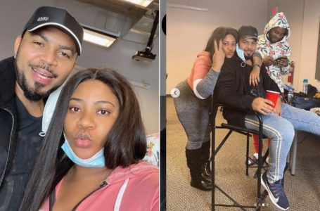 'He Is Ageless' – Nkechi Blessing Gushes Over Actor, Ramsey Nouah As They Link Up In America