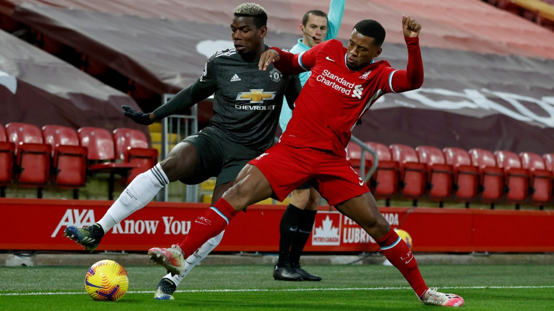 Liverpool 0-0 Manchester United: Anfield Stalemate As Title Race Clash Fails To Spark
