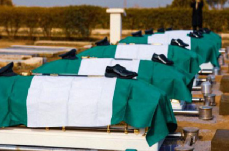 NAF Crash Victims Buried Amidst Tears