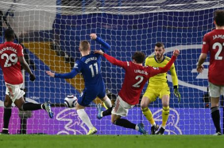 Man City Extend Lead By 12 Points As Man United Hold Chelsea To Stalemate