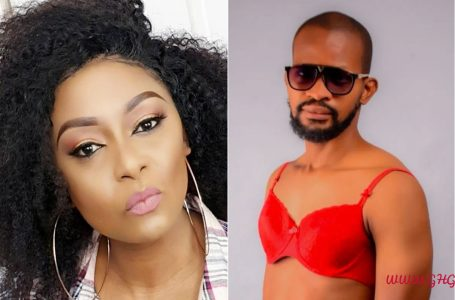 Your Gay Post Is Caused By Poverty' — Actress, Victoria Inyama Mocks Uche Maduagwu