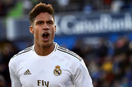Champions League: Real Madrid Defender, Varane Doubtful For Chelsea Clash