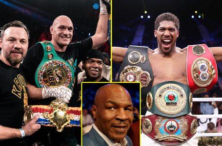 Again, Anthony Joshua Vows To Knockout Tyson Fury