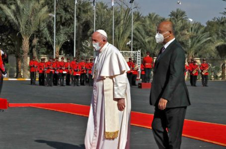 Pope Hails 'Long-Awaited' Trip To Iraq, Welcomed By President