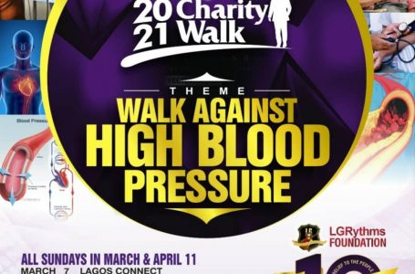 Charity Walk Against High Blood Pressure To Hold Sunday In P'Harcourt