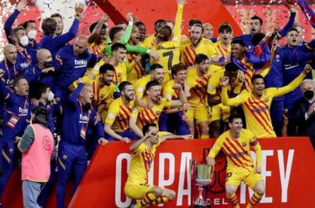 Barcelona Thrash Athletic Bilbao 4-0 To Win Copa del Rey