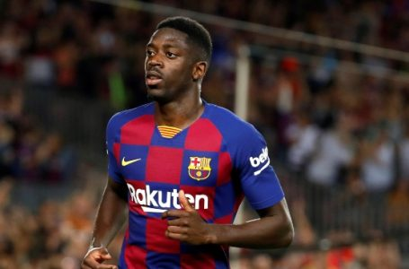 Liverpool See Barcelona Forward, Dembele As Replacement For Mane