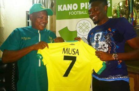 Kano Pillars Unveil Super Eagles Captain, Ahmed Musa