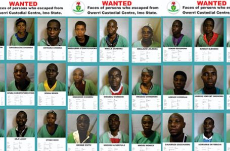 NCoS Reveals Identities Of More Fleeing Inmates In Imo