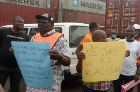 Maritime Workers Shut Down Terminals In Lagos Over Anti-labour Activities