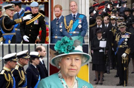Prince Philip's Funeral: Queen Elizabeth Bans Princes Harry, Andrew, Others From Wearing Military Uniform