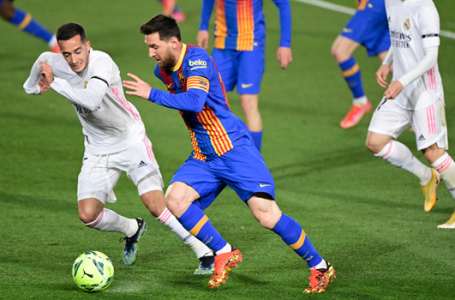 Real Madrid Outwit Barcelona In Clasico, Go Top Of La Laiga