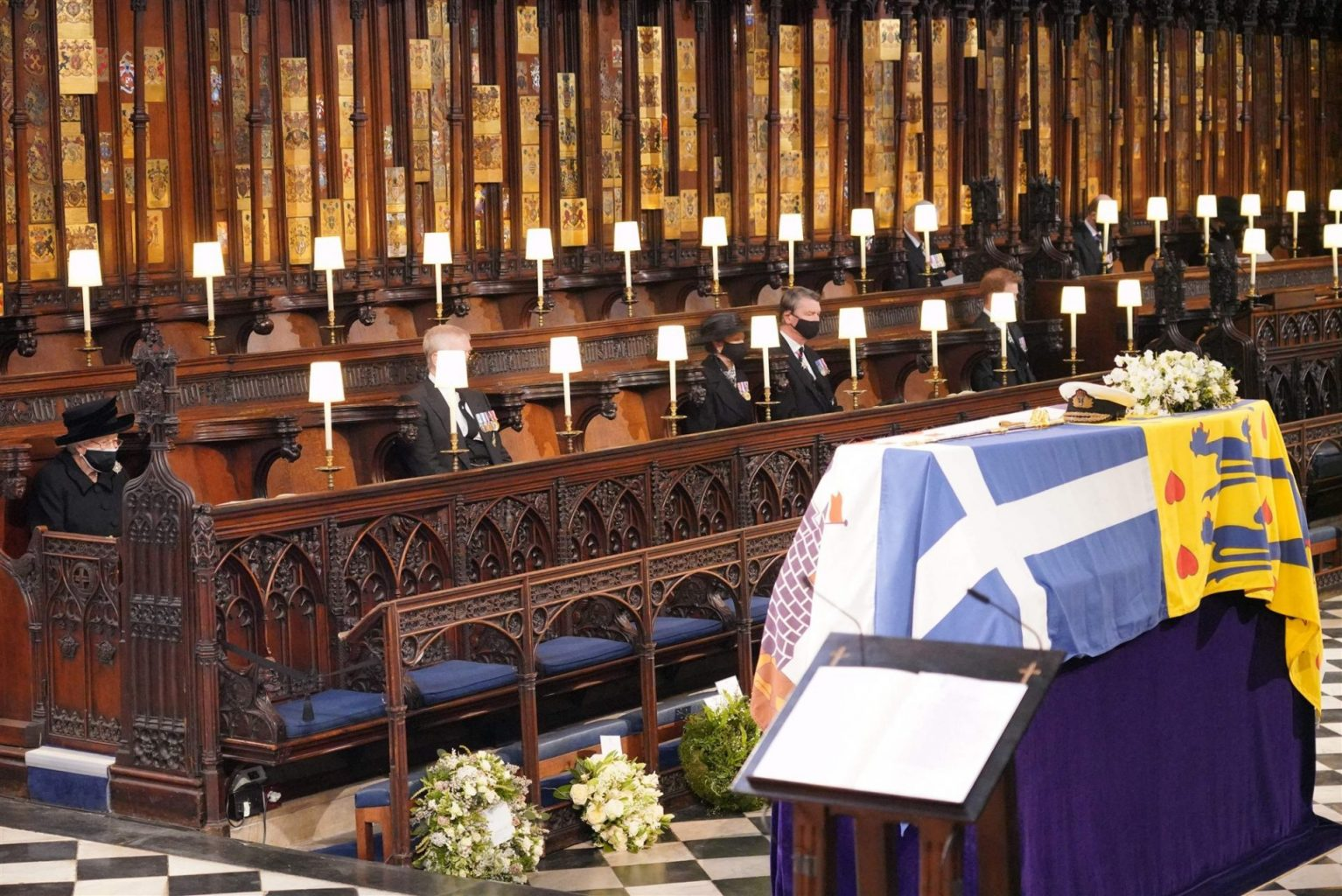 Prince Philip Laid To Rest By Queen Elizabeth, Royal Family