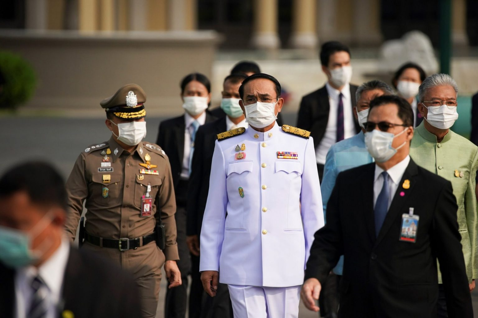 Covid-19: Thailand's Prime Minister Fined $190 For Not Wearing Face Mask