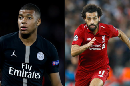 PSG Identify Liverpool Star, Salah As Mbappe's Replacement